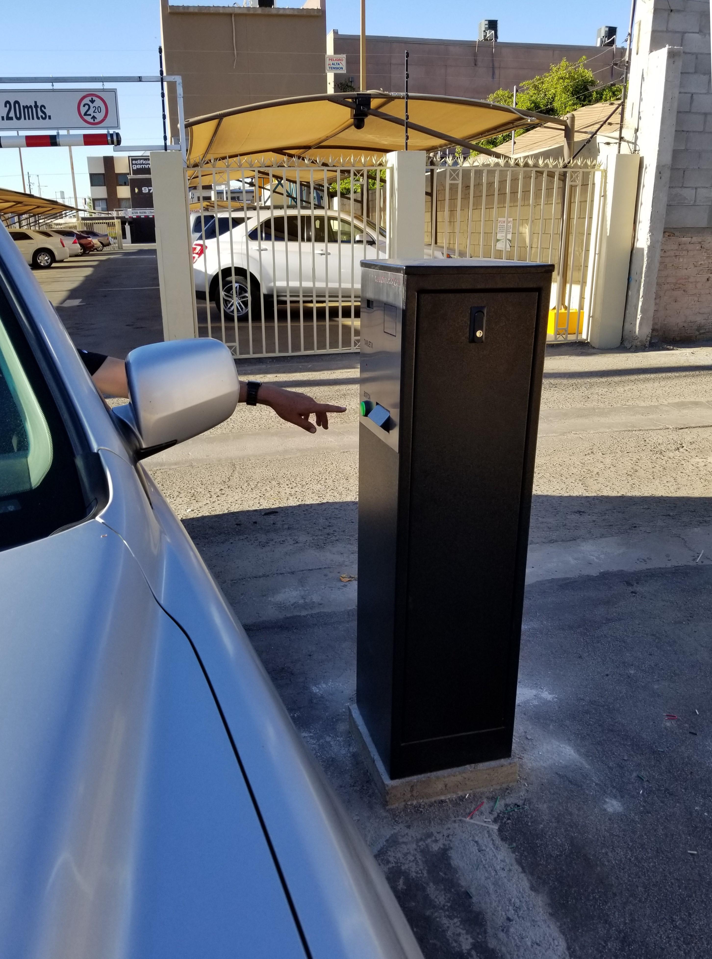 Maquinas Estacionamientos